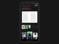 Darkside books app home