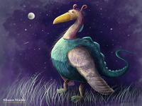Dinosaur Bird Creature