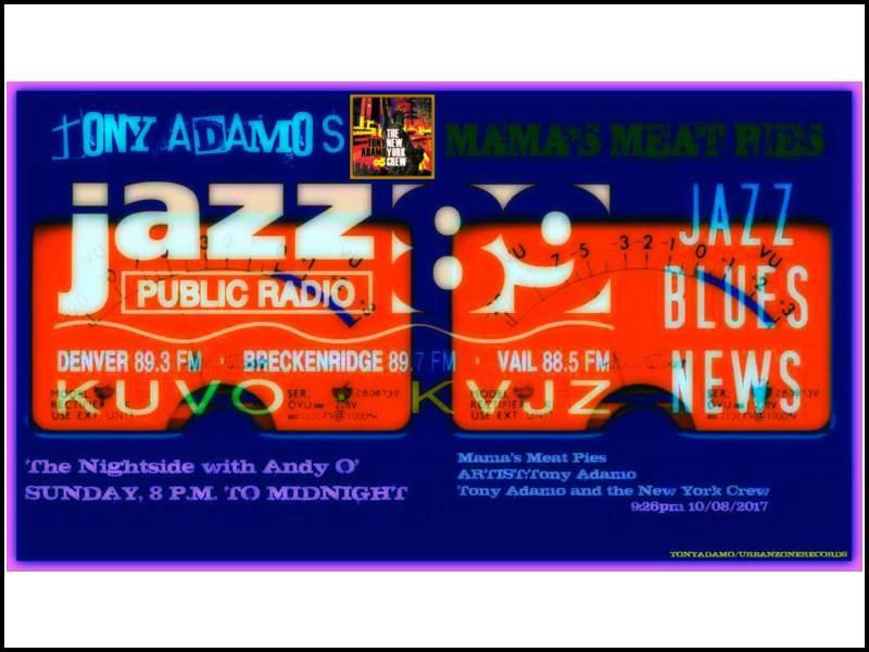 Jazz89radio adamo tony
