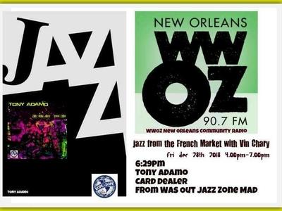 Internet Ad For WWOZ Radio
