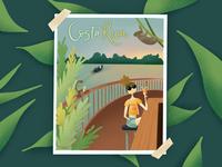 Costa Rica | Pura Vida Illustration