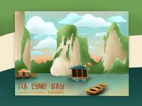 Ha Long Bay, Vietnam | Illustration
