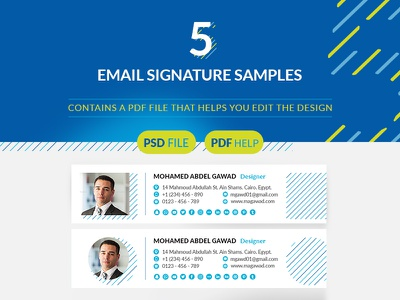 Email Signature Samples For Gmail Yahoo Hotmail email e-sign e-mail e signatures e signature custom email creative email contact message contact business email business
