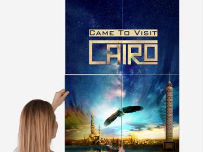 Poster Metal Cairo