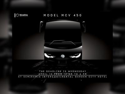 Invitation New Bus MCV 450