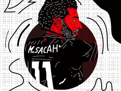 Mohamed Salah - free vector art