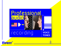 Record a Professional American Voice