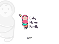 Logo Baby Maker Family