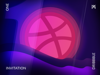 1 invitation from Dribbble