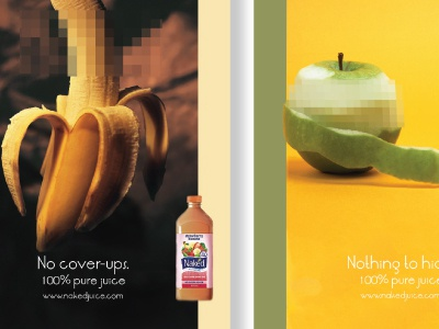 Spring Break Fruit ad naked