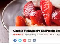 Recipe Page Overhaul