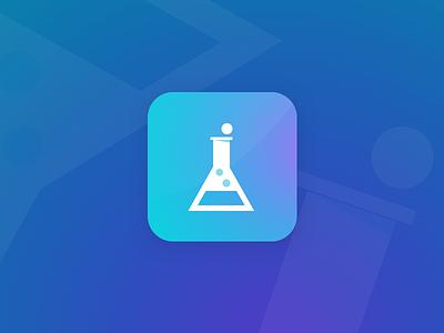 Daily UI 5 - App Icon blue purple iconography icon app ui daily ui
