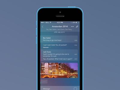 Messenger App ios app messenger social chat