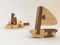 Puzzle 3D - Boat