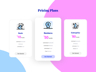 Daily UI#30-Pricing pricing page pricing plan pricing table pricing dailyuichallenge daily 100 challenge ui branding illustration dribbble typography ux character design