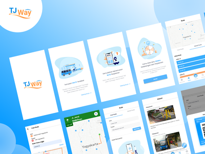 TJ Way - Overview minimal branding illustration ui dribbble user experience userinterface interface interaction design