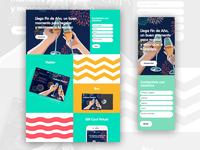 Landing Page - Web & Responsive