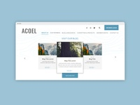 Website for non-profit organization