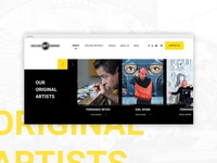 Section Artist Website