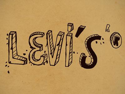 Levis print copy