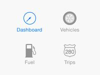 iOS 7 Tab Bar Icons