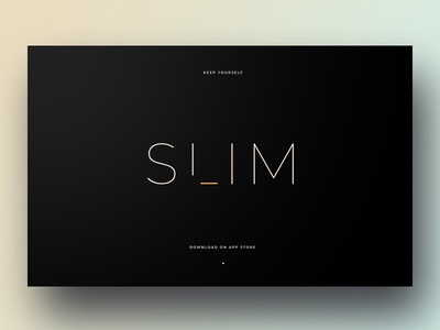 Slim site minimal user interface typography ux website webdesign interface ui design
