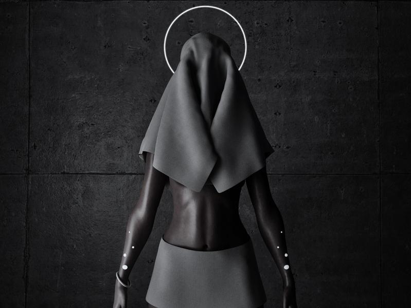 Mom Zelda character concept character dark color design visual design visual art 3d animation 3d art 3d