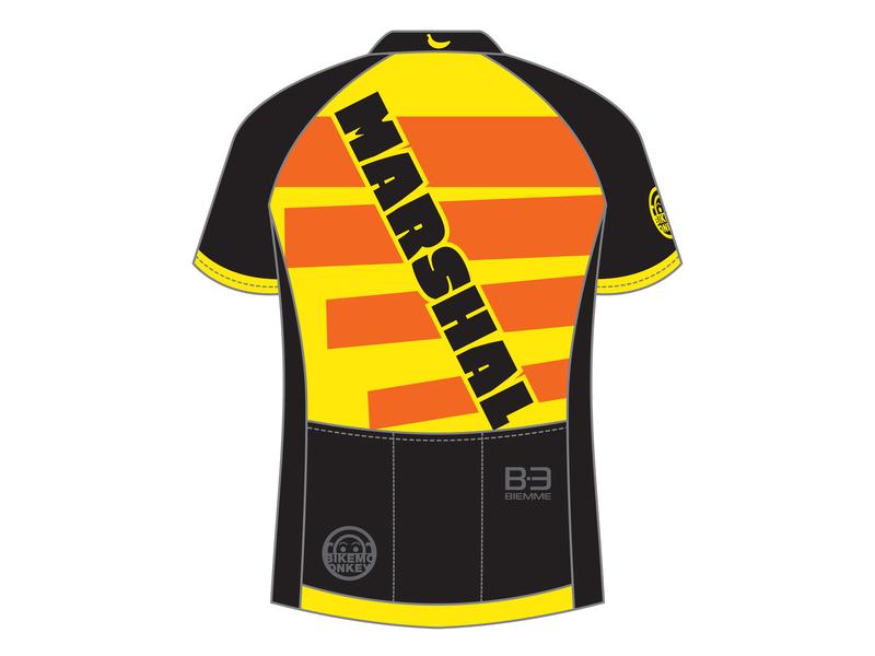 Marshal Jersey 2019 branding flat design jersey cycling kit cycling jersey