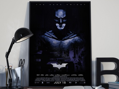 Bat man Ropo limited edition poster
