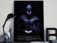 Bat man Ropo limited edition poster