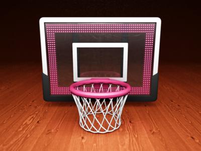 LastShot basketball background lights glass plastic net string hoop wood app icon mac