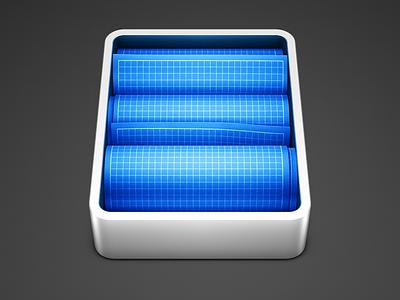 Programming Icons [2/2] developer mac icon shiny metal case blueprints project