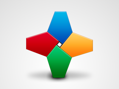 Google+ icon google plus cross