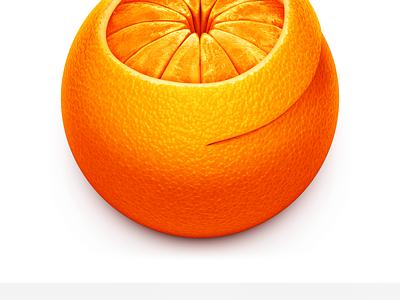 Squash compression peel app fruit mandarin satsuma clementine orange mac icon