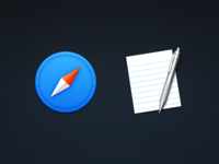 Safari & TextEdit