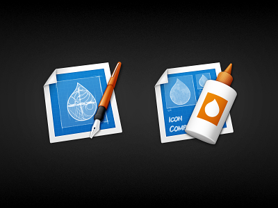 The Iconist's Toolkit mac 512px blueprint drop pen fountain glue compiler designer composer icon vector gimp photoshop icons