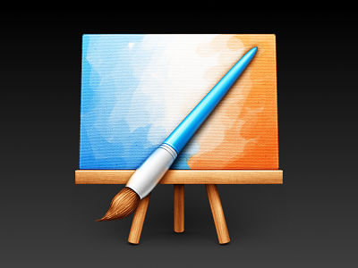 MyPaint mypaint painting drawing brush canvas easel paint wood metal icon