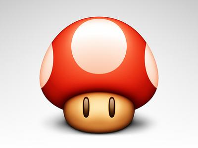 Mushroom Update mac icon mario mushroom