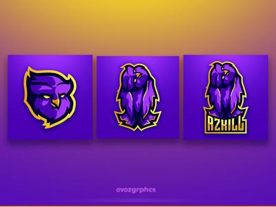 Azkill - Mascot Logo Design