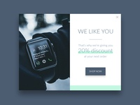 Daily UI challenge #016 Pop-up