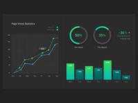 Daily UI #021 - Monitoring Dashboard