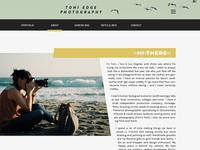 Toni Edge Website
