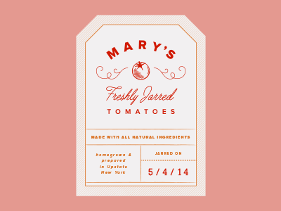 Mary's Jarred Tomatoes