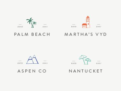 Enjoy Sub Brands logo travel illustration branding