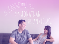 Jonathan & Annie's Save the Date