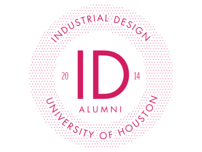 University of Houston Industrial Design Alumni Logo