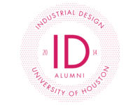 University of Houston Industrial Design Alumni Logo