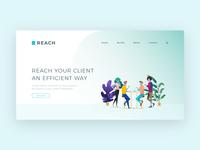 Reach Web concept
