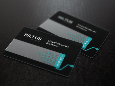 Hiltus Business Card Mockup renovations constructions black awesome great transparency design business card plastic
