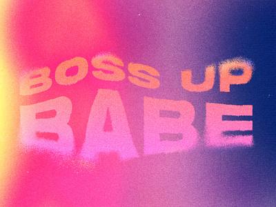 Empowerisms design vibrant glitch typography